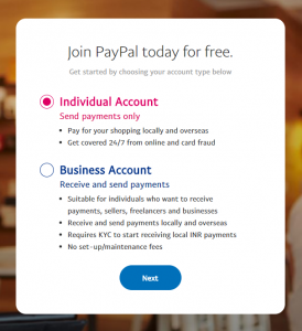 Paypal Account image